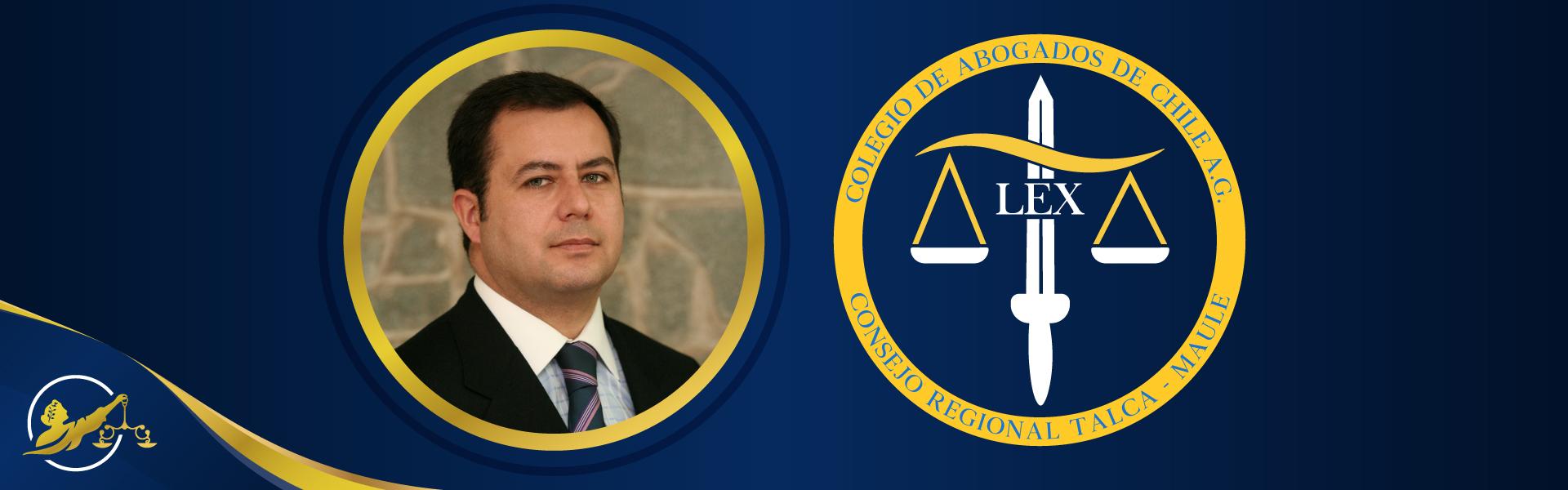 José L. Álvarez nuevo Consejero Colegio Abogados Maule thumbnail